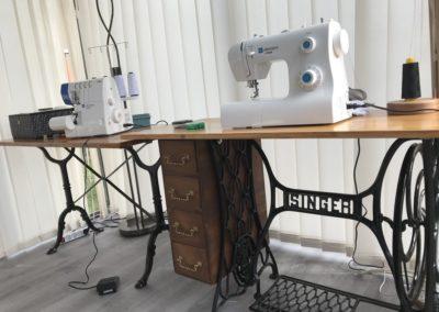 machine de l'atelier de création d'abat-jours