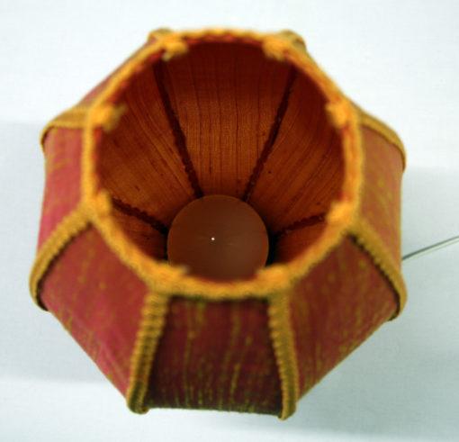 abat-jour forme lanterne asiatique